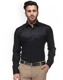 Black Formal Light Turquoise Shirt-GG(Similar style)