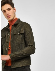Teak Wood Brown tonic Corduroy Jacket-TW(similar style)