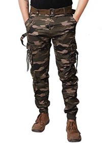 Camouflage Printed  Joggers(Similar Style)-TW