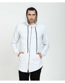 White Full Sleeve  Solid Sweatshirt-AS(Similar Style)