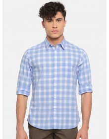 Blue Gingham Checked Shirt(Similar Style)-NPS