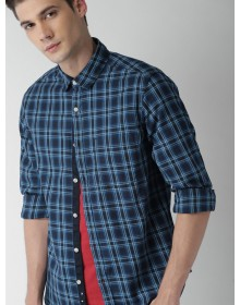 Blue Tartan Checked Shirt(Similar Style)-NPS
