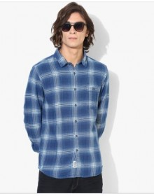 Blue And White Buffalo Checked Shirt-NPS(similar style)