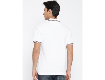 White Polo T-Shirt-F2