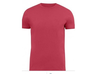 Pink Solid T-Shirt-F2