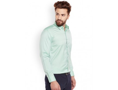 Formal Light Turquoise Shirt-GG