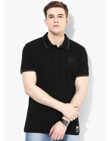 Archive Black Polo T-Shirt By Puma