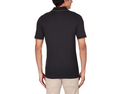 Men's Cotton Black Polo By G-STAR RAW