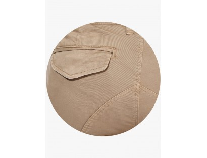Beige Solid Cargo By Selected