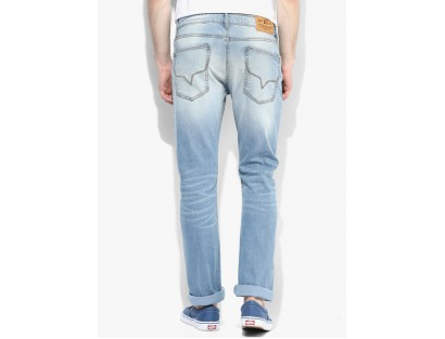 Blue Slim Fit Jeans By Pepe Jeans