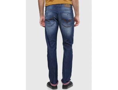 Light Blue Slim Fit Jeans by Rookies