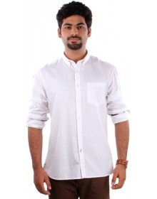 Indian Terrain Men's Solid Formal Shirt