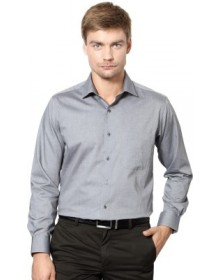 Van Heusen Men's Solid Slim Fit Shirt