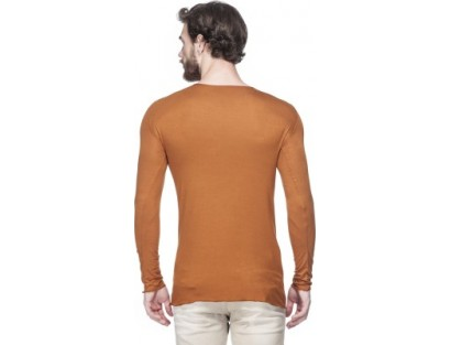 Tinted Solid Men's Round Neck T-Shirt