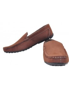 Shoe Striker Brown Loafers For Men