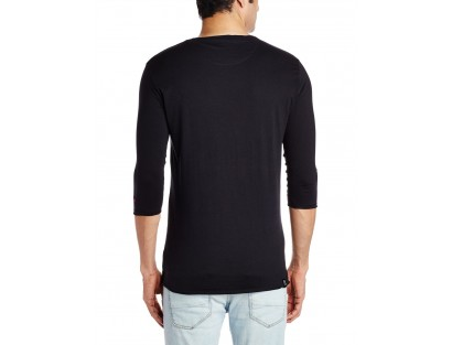 Being Human Men's Cotton T-Shirt Black
