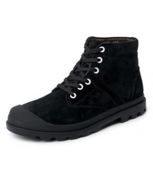 Men Oxfords Winter Suede Boot