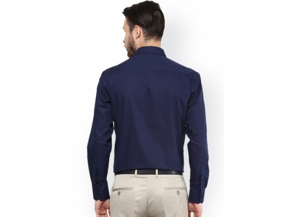 Celio Blue Slim Fit Shirt -NPT