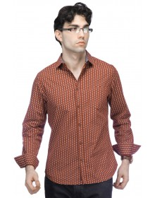 Men's Printed Casual Shirt By Chewingum