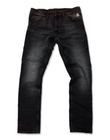 Men's Black Slub Denim