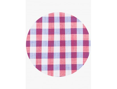 Maroon Checked Regular Fit Casual Shirt by Urbantouch