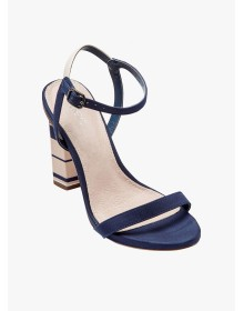 Blue Feature Heel Glam Sandals by Next