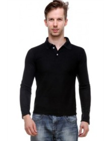 Grand Bear Black Polo T Shirt