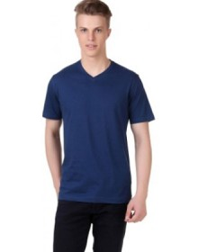 Aventura Outfitters Solid Men's V-Neck T Shirt