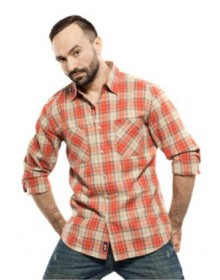 Mavango Checkered Casual Shirt For Men