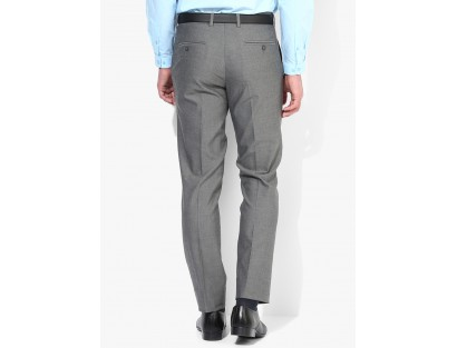 Code by Lifestyle Grey Formal Trouser