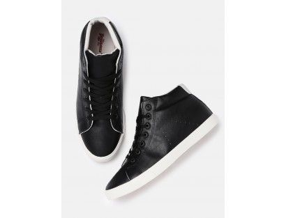 Black Casual Sneakers-Savyasachi