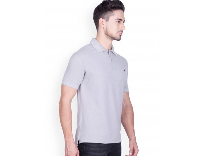 Grey Polo T-Shirt-Savyasachi