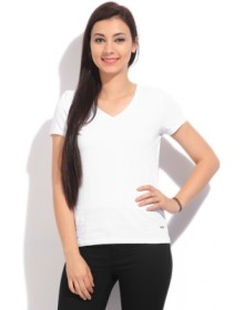 United Colors Of Benetton Solid Women's T Shirt