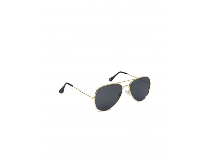Black Aviator Sunglasses-VVR