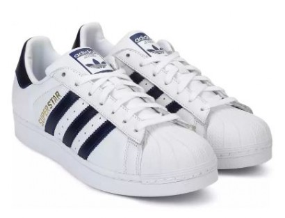 Adidas White Casual Shoes(Original)-VVR