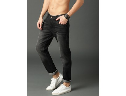 Black Slim Fit Jeans-MM